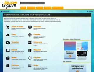 jeuxtrouve.net screenshot