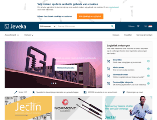 jeveka.com screenshot