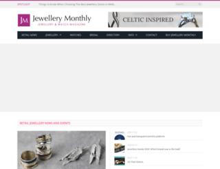 jewellerymonthly.com screenshot