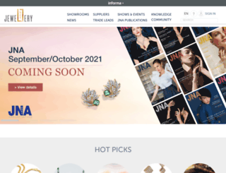 jewellerynewsasia.com screenshot