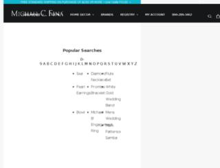 jewelry.michaelcfina.com screenshot