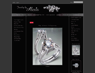jewelrybyalexis.com screenshot