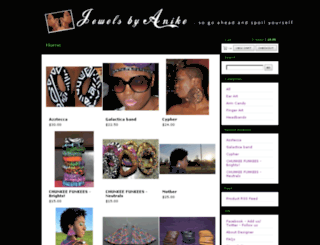 jewelsbyanike.com screenshot