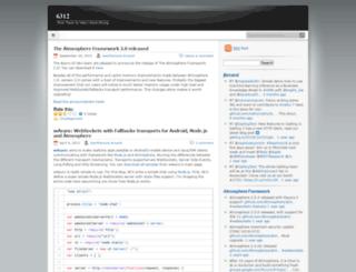 jfarcand.wordpress.com screenshot