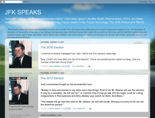 jfkspeaks.blogspot.com screenshot