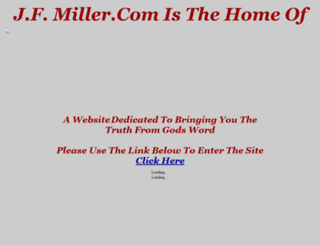 jfmiller.com screenshot