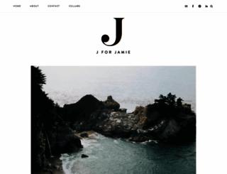 jforjamie.com screenshot