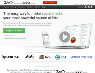 jfrog.zao.com screenshot