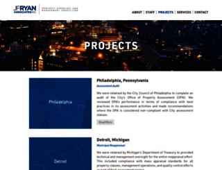 jfryan.com screenshot