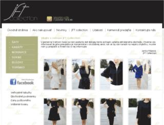 jftcollection.sk screenshot