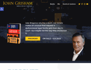 jgrisham.com screenshot