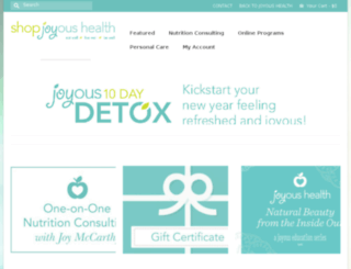 jh.joyoushealth.ca screenshot