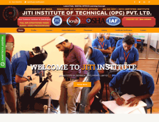 jharkhandinstitute.org screenshot