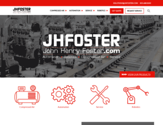 jhfoster.com screenshot