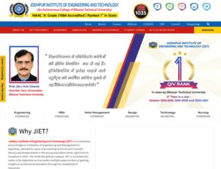 jietjodhpur.com screenshot