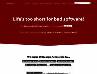 jifflenow.mybalsamiq.com screenshot