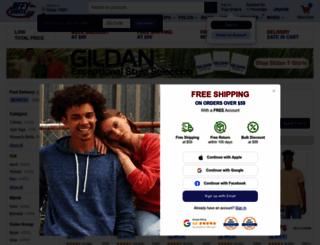 jiffyshirts.com screenshot