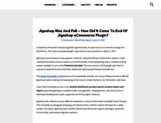 jigoshop.com screenshot