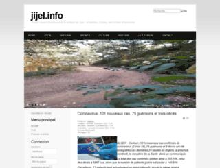 jijel.info screenshot