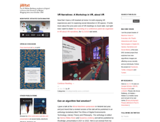 jilltxt.net screenshot