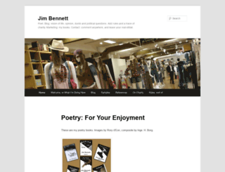 jim-bennett.ca screenshot