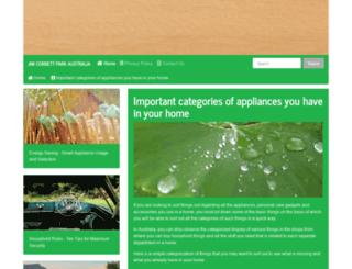 jim-corbett-park.com screenshot
