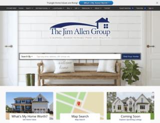 jimallen.com screenshot