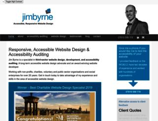 jimbyrne.co.uk screenshot