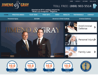 jimenogray.fosterwebmarketing.com screenshot