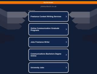 jimmurdoch.co.uk screenshot