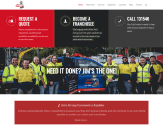 jimsdiggers.com.au screenshot
