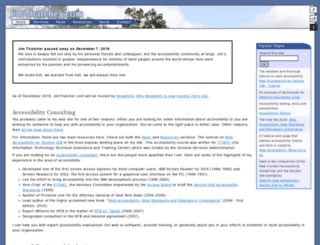 jimthatcher.com screenshot
