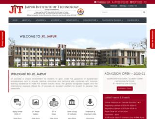 jitjaipur.com screenshot