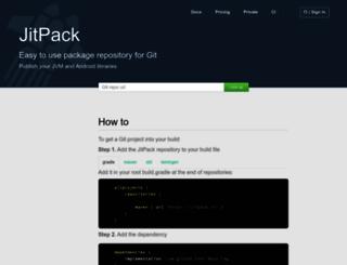 jitpack.io screenshot