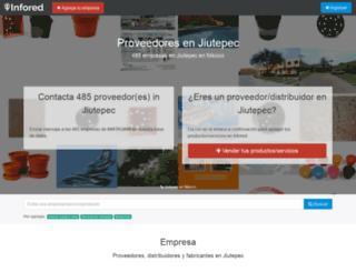 jiutepec.infored.com.mx screenshot