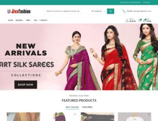 jivafashion.com screenshot