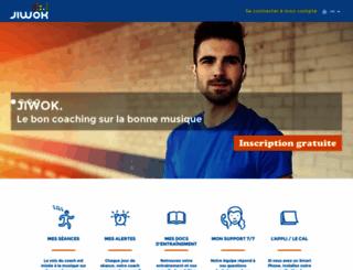 jiwok.com screenshot