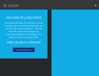 jj-solutions.com screenshot