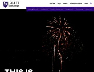 jjc.edu screenshot