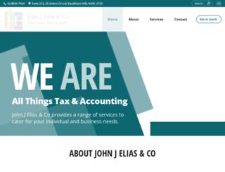 jje.com.au screenshot