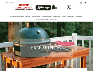 jjgeorgestore.com screenshot