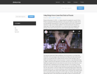 jjhaleyracing.com screenshot