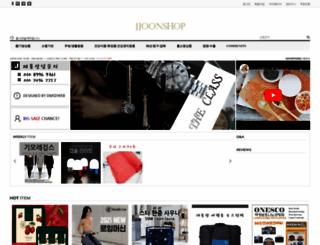 jjoonshop.com screenshot