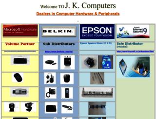 jkcindia.com screenshot