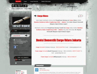 jktcargo.wordpress.com screenshot