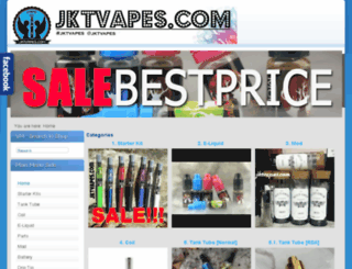 jktvapes.com screenshot