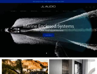 jlaudio.com screenshot