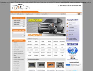 jlkautoparts.com screenshot