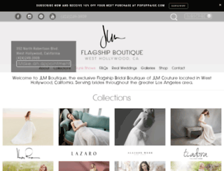 jlmboutique.com screenshot