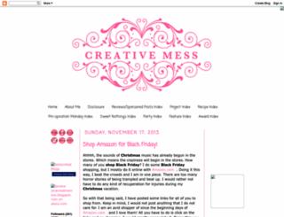 jmacreativemess.blogspot.com screenshot